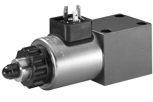 OPERATED PRESSURE CONTROL VALVE WITH ELECTRIC PROPORTIONAL CONTROL